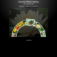 194 circular gallery - flash templates