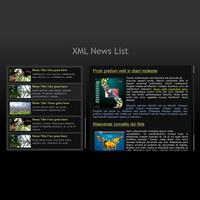 228 news list - flash templates