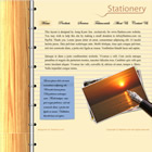 flashmo 069 stationery Free Flash Website Templates and Galleries