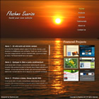 flashmo 071 sunrise Free Flash Website Templates and Galleries