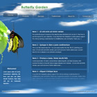 flashmo 075 butterfly Free Flash Website Templates and Galleries