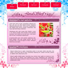 flashmo 099 floral Free Flash Website Templates and Galleries