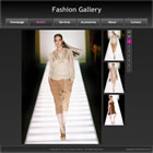 flashmo 118 fashion gallery Free Flash Website Templates and Galleries