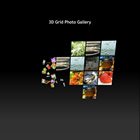 flashmo 121 3d grid gallery Free Flash Website Templates and Galleries