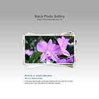 flashmo 130 stack gallery Free Flash Website Templates and Galleries