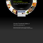 flashmo 132 circle Free Flash Website Templates and Galleries