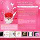 161 pink - free flash template