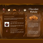 163 chocolate - free flash template