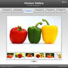 211 horizon gallery - free flash template