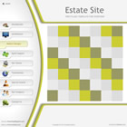 221 estate - free flash template