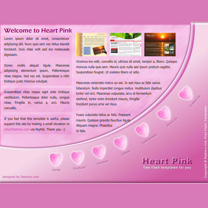 flashmo 073 heart pink