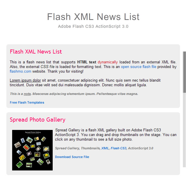 flashmo 186 news list