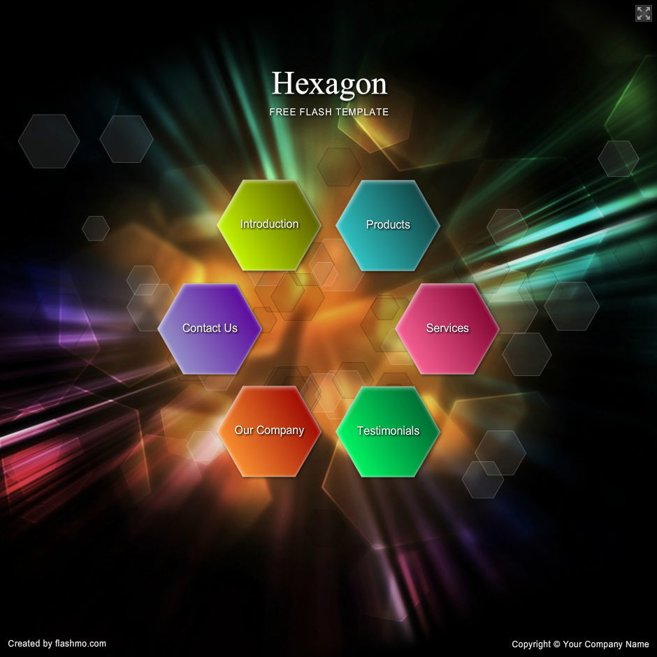 flashmo 262 hexagon