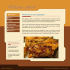 124 delicious - free flash template