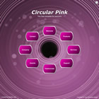 267 circular pink - free flash template